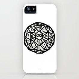 Infinity Die iPhone Case