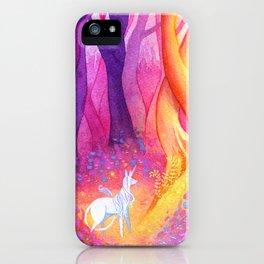 Unicorn Forest iPhone Case
