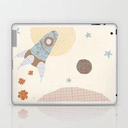 spaceship collage Laptop & iPad Skin
