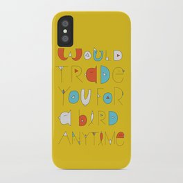 wings to love free  iPhone Case