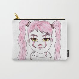 Genderbent Clown | Coloured Illustration Carry-All Pouch