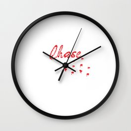 A Unique Detailed Zombie If Zombies Chase Us I'm Tripping T-shirt Design Zombie Apocalypse Scary Wall Clock