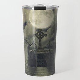 Graveyard #4 * cemetary thombstone creepy scary Travel Mug