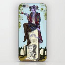 Haunted Nein 3 iPhone Skin