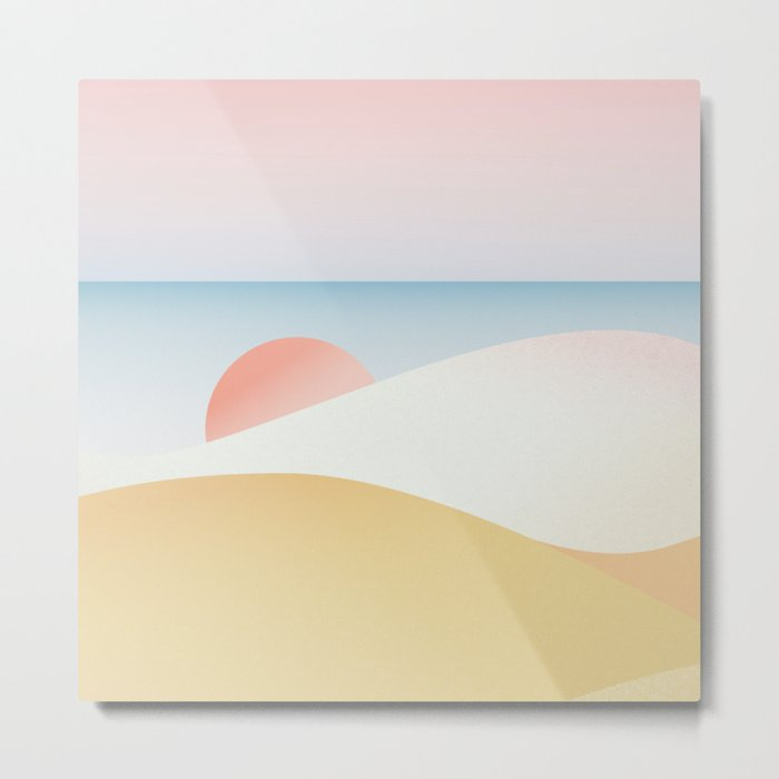 ※ Hawaii • Hulopoe Beach ※ Metal Print