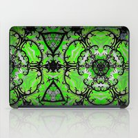 emerald iPad Cases featuring Emerald by Erin Brekke Conn
