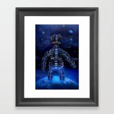 i robot Framed Art Print