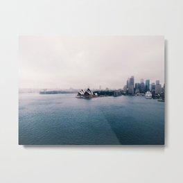 Sydney Downpour Metal Print