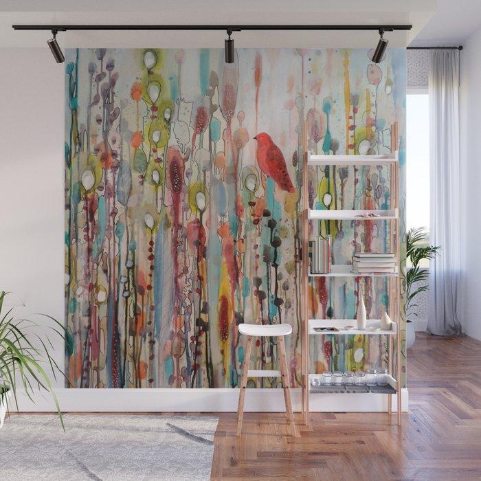 la vie comme un passage Wall Mural