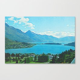 Southern Alps Canvas Print