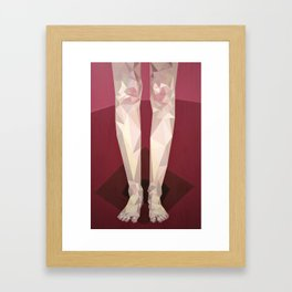 Insecurities I Framed Art Print