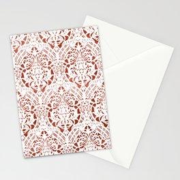 Sanguine Vintage Pattern Stationery Cards