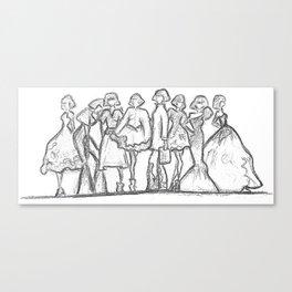 runway daze Canvas Print