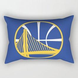 Warriors Logo Rectangular Pillow