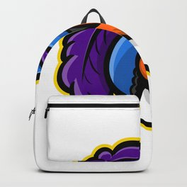 Cavalier Head Mascot Backpack