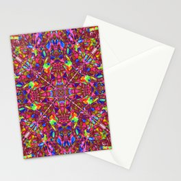Pink Mandala Pattern Stationery Cards