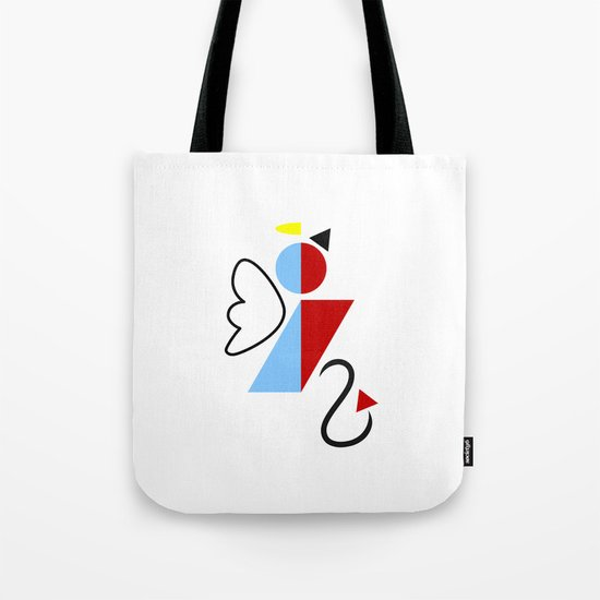 Dengel (Angel + Devil) Tote Bag