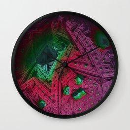 go mandelbulb -1- Wall Clock