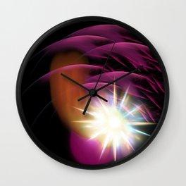 Meteor Burst Wall Clock
