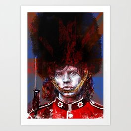 ROYAL'N' ROLL Art Print