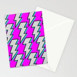 Purple Lightening Stationery Cards