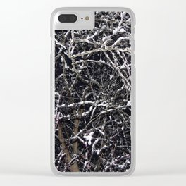 Skeleton of a Tree Clear iPhone Case