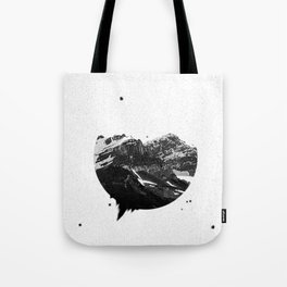 Dust Mountain Tote Bag