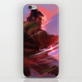 Swordsman iPhone Skin