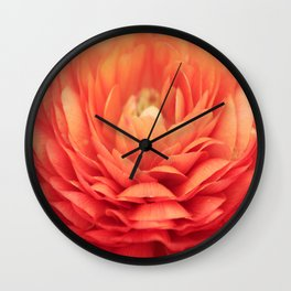 Soft Layers Wall Clock