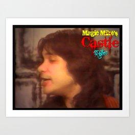 Magic Mike's Castle (Retro 1990 Version) Art Print