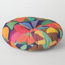 Color Blocks Floor Pillow