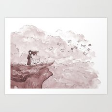 Letters from the Edge of the World Art Print