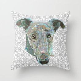 Sweetheart Hound Throw Pillow