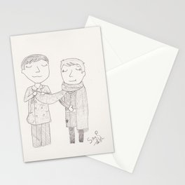 Button up your overcoat Stationery Cards