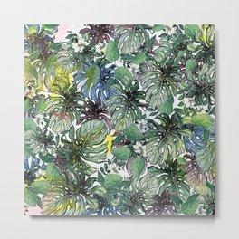 Tropical Foliage Metal Print