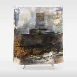 Hollow Ocean Shower Curtain