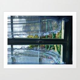Monet's Kitchen Art Print