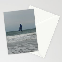 Great day for sailing! Stationery Cards