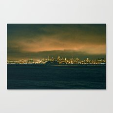 VIEW FROM FORT BAKER I Canvas Print