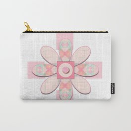 Buttons and Bows Flower 2 Carry-All Pouch