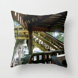 Tree house @ Aguadilla 2 Throw Pillow
