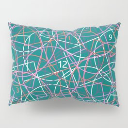 Geometry and math abstract pattern Pillow Sham