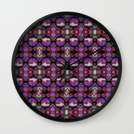 Stained Glass 1 Wall Clock