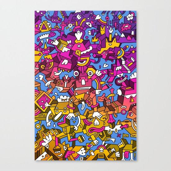Doctor Edge Canvas Print