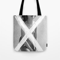 leather Tote Bags featuring Leather by Thrashin