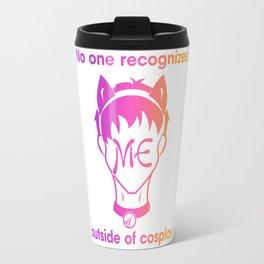 Recognize CAT- Gradient print Travel Mug