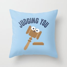 Held In Contempt Throw Pillow