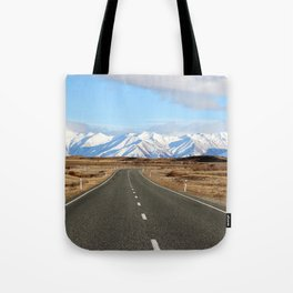 White Cap Journey Tote Bag