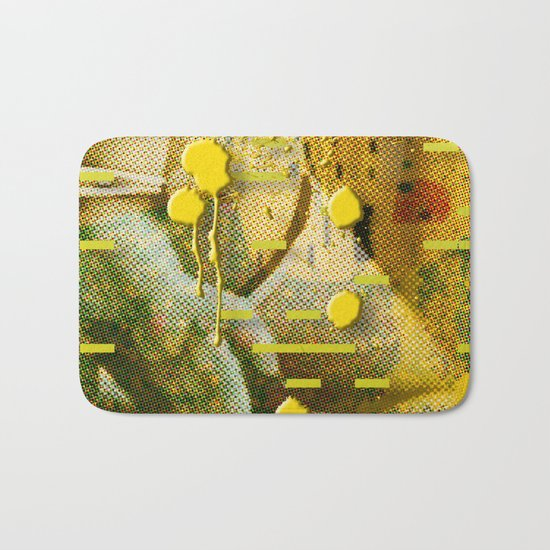 Let Me Check My Calendar < The NO Series (Yellow) Bath Mat
