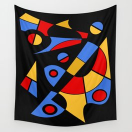 Abstract #115 Wall Tapestry